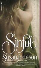 Sinful ~ Johnson, Susan Mass Market Paperback Romance Book