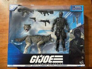 GI Joe Classified #30 Snake Eyes & Timber Alpha Commandos new box set hasbro toy