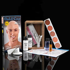 Bald Cap Kit student makeup school stage theatrical costume Mehron performance