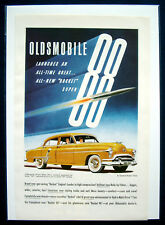 Werbeanzeige Ad Oldsmobile Rocket 88   Launches an all time great... (USA)