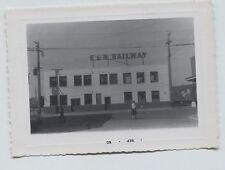1960 Esquimalt and Nanaimo Railroad Station Vancouver British Columbia  photo
