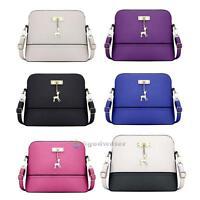 Women PU Shoulder Crossbody Bag Tote Purse Satchel Messenger Handbag Shell Bags