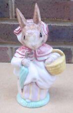 ROYAL ALBERT Beatrix Potter Figurine - Mrs Rabbit (Large Version) 2nd Quality