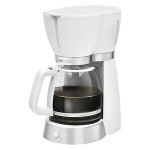 Clatronic KA 3689 Kaffeemaschine Kaffeeautomat weiß für 15 Tassen 1,7 L 1000 W