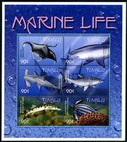 """Tuvalu 2000 """"Meeres und Küstentiere"""", MiNr 876/1, ** MNH"""
