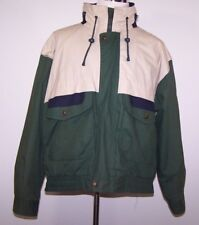 Seagrams Mens Sports Windbreaker Full Zip Front Lined Hooded Size Large