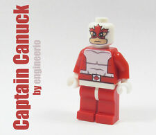 LEGO Custom - Captain Canuck - Marvel Super heroes mini figure america x-men