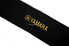 Yamaha Piano Key Cover - Black PREMIUM Felt Embroidered Keyboard Cover