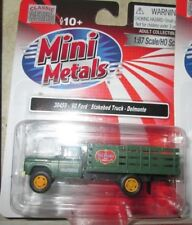 CMW #30459 1960 Ford F-500 Stakebed Delivery Truck - Delmonte 1:87 HO Scale