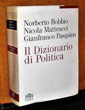 IL DIZIONARIO DI POLITICA BOBBIO MATTEUCCI PASQUINO UTET 2004 1041 PAG.