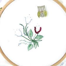 aguja Keeper Flor Ladybird punto de cruz bordados Aguja Minder magnético