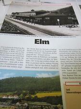 Bahnhof - Gleisplan N Elm H 4S