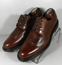 24NP1018162 SPi60 Mens Shoes Size 9  Brown Leather Made in Italy Johnston Murphy