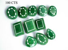 Green Emerald Loose Gemstone Lot Top Quality Natural Mix Shape Brazilian