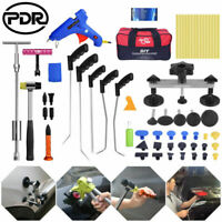 61pcs Paintless Dent Repair Push Rods PDR Tools Puller Lifter Line Board Removal