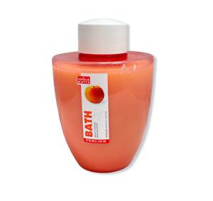 Perlier La Voglia Matta Bath Peach 500ml/16.9fl.oz. New