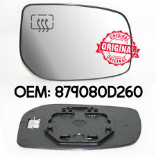 rechts tür-flügel Spiegel silber beheizt Glas für Toyota Yaris 2006 AB