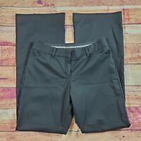 Express Design Studio Editor Dress Pants Women's Size 4 Solid Black Mid Rise