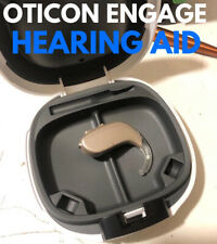 4 x Oticon Engage BTE Hearing Aids New With Instructions, Code + Batteries OPN 2