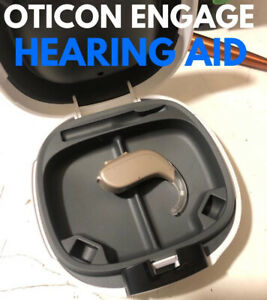 Oticon Engage BTE Hearing Aid New Boxed With Instructions,Code + Batteries OPN 2