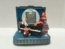 RARE Disney Who Framed Roger Rabbit Jessica Piano Snowglobe Music Box Statue