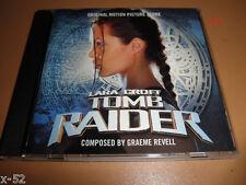 Lara Croft TOMB RAIDER 1 score CD soundtrack GRAEME REVELL ost Angelina Jolie