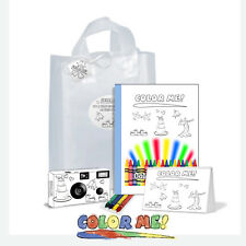 Color-My-Cam Gift Bag for Wedding. Child Wedding Favor/child camera (Pkg-56306)