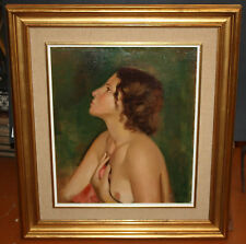 FRANCESC DOMINGO SEGURA (BCN, 1895 - BRASIL, 1974) OLEO SOBRE TELA. DESNUDO