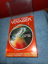 Star Trek Voyager - The Complete First Season (DVD, 2004, 5-Disc Set) Paramount