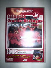 DVD ECHAPPEMENT IRLANDE GRANDE BRETAGNE 2007 / LOEB CHAMPION