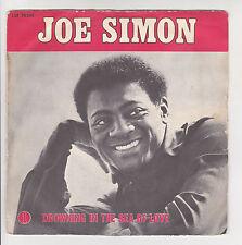 "Joe SIMON Vinyl 45T 7"" DROWNING IN THE SEA OF LOVE - LIDO MUSIQUE F Rèduit RARE"