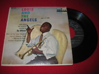 LOUIS ARMSTRONG 45 EP - LOUIS & THE ANGELS - DECCA JAZZ