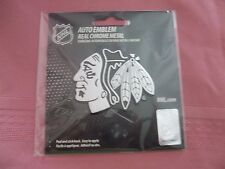 NHL Chicago Blackhawks-Auto Emblem-Real Chrome Metal-NHL Hologram-NEW-L@@K