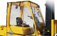 Atrium Full Forklift Cab Enclosure Cover Clear Vinyl Fits 6,000 - 12,000+ LBS