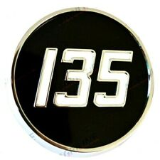 METAL SIDE BADGE FITS MASSEY FERGUSON 135 TRACTORS. HIGH QUALITY