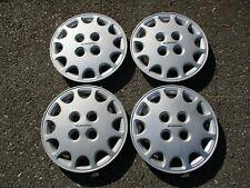Factory 1989 1990 Subaru Justy 13 inch hubcaps wheel covers set