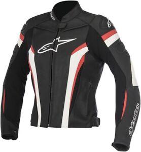Alpinestars Stella GP Plus R V2 Leather Jacket 40 Black/White/Red