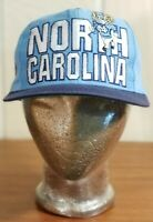 NCAA North Carolina Tarheels Logo 7 Vintage Rameses Blue Hat Cap Snapback.