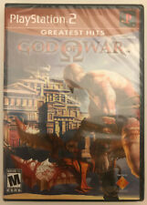 God of War (PlayStation 2, 2005) greatest hits brand new-factory sealed ps2