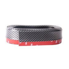 2.5M Carbon Fiber Front Bumper Lip Splitter Spoiler Skirt Valance Chin Protector