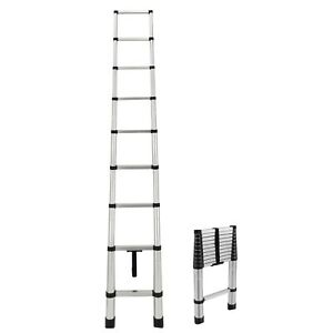 RecPro RV Aluminum Telescoping Ladder | Collapsible Extension Ladder