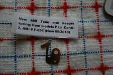 AMI juke F to Continental 2 Tone Arm set-down cam spring HARD TO FIND! NEW!
