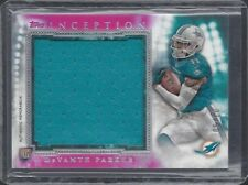 DEVANTE PARKER 2015 TOPPS INCEPTION PINK JUMBO DOLPHINS ROOKIE JERSEY RC #D 3/50