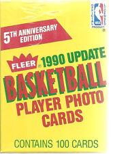 Fleer Basketball Updates 1990 Gary Payton Rookie 5th Anniversary Set Sealed