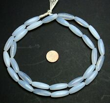 Strang 64 cm Opal Blanche Moonstone trade beads
