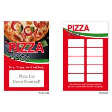 Pizza Pasta Italiener Bonuskarten Treuekarten Rabattkarten Pizzapass 200 Stück