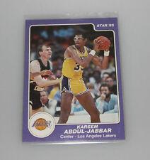 1984-85 Star kareem abdul jabbar