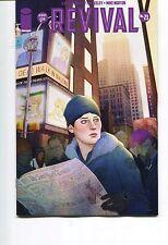 REVIVAL #21 - 1st PRINTING - JENNY FRISON COVER - MIKE NORTON ART - 2014