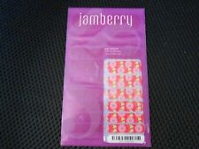 Nip Jamberry Full Sheet Nail Wraps Nepal Relief