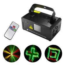 SUNY Mini DMX 8CH 3D RGY Laser Lights DJ Party Bar Show Projector Stage Lighting
